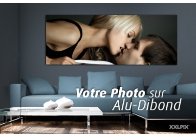 Photo sur alu dibond